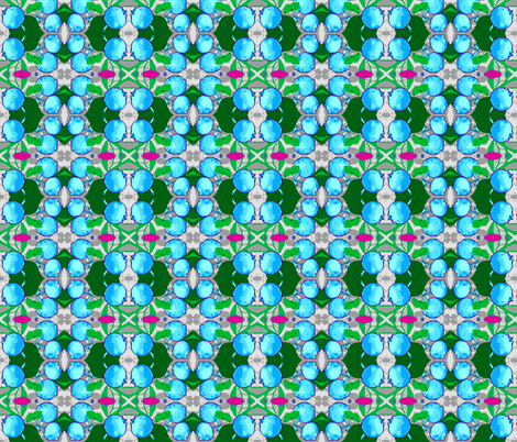 Blueberry Yum! fabric by robin_rice on Spoonflower - custom fabric