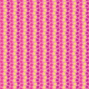 Star Striped Scatter in Pink