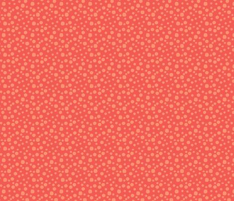 Mini Dot in purple & orange fabric by angie_mac on Spoonflower - custom fabric
