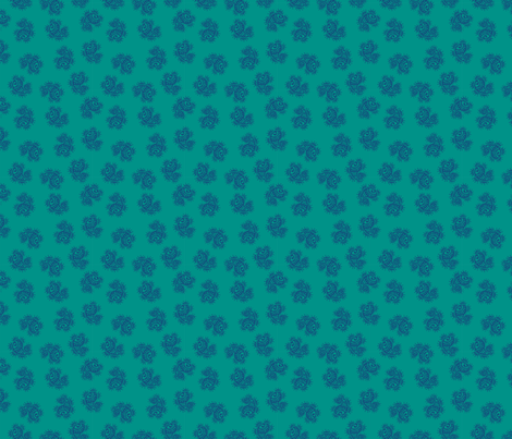 Indian Dot Paisley in blue & green fabric by angie_mac on Spoonflower - custom fabric