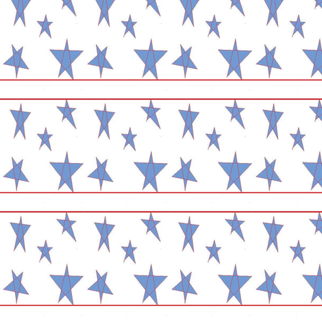 stars fabric by j6quilter on Spoonflower - custom fabric