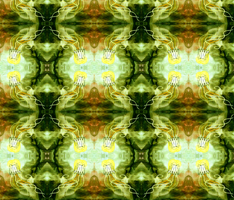Yellow_Jelly fabric by art_on_fabric on Spoonflower - custom fabric