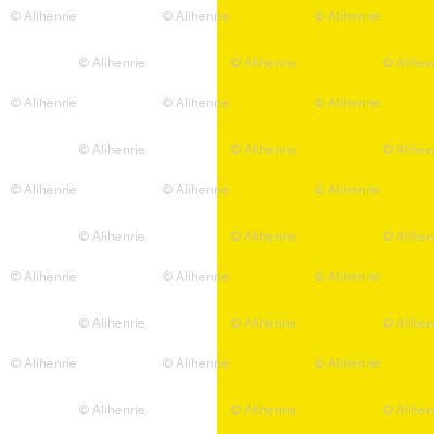 stripe yellow and white