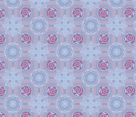 celtic denim fabric by keweenawchris on Spoonflower - custom fabric