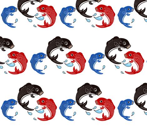 Koinobori fabric by flyingfish on Spoonflower - custom fabric