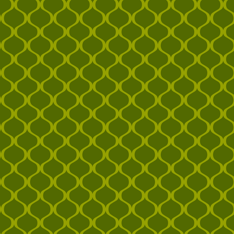 Papa's lattice (green) fabric by bippidiiboppidii on Spoonflower - custom fabric