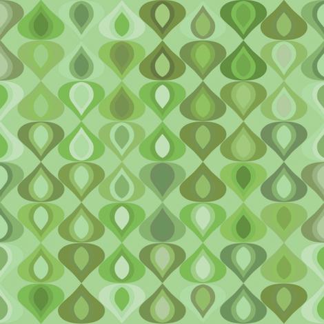 gouttelette leaf fabric by scrummy on Spoonflower - custom fabric