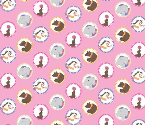 Ring Leaders fabric by cottageindustrialist on Spoonflower - custom fabric