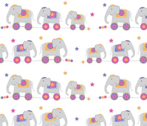 Elephant Walk fabric by cottageindustrialist on Spoonflower - custom fabric