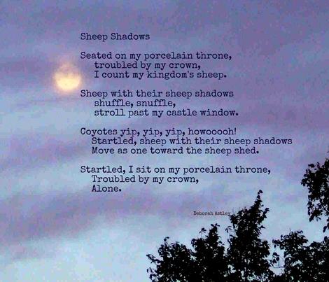 Sheep Shadows fabric by anniedeb on Spoonflower - custom fabric