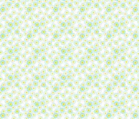 Summer Green Garden fabric by joanmclemore on Spoonflower - custom fabric