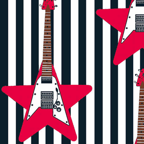 rockstar1 fabric by paragonstudios on Spoonflower - custom fabric