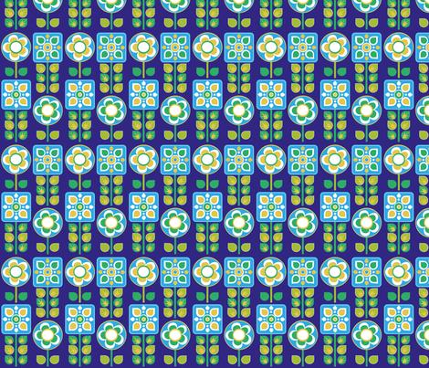 blumeblau fabric by jodysart on Spoonflower - custom fabric