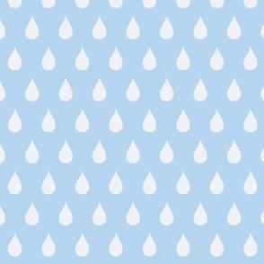 Rainy Days Flip (light sky blue)