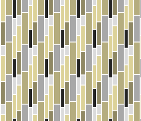 Neutral Subway fabric by pearl&phire on Spoonflower - custom fabric