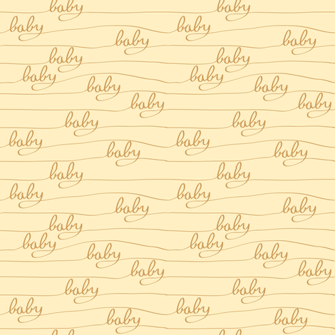Baby Baby Orange fabric by bartlett&craft on Spoonflower - custom fabric