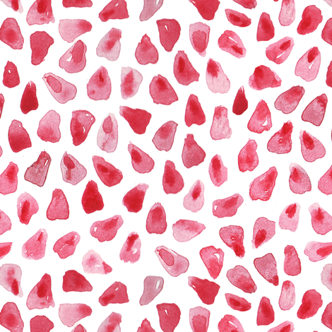 pomegranate seeds fabric by katarina on Spoonflower - custom fabric