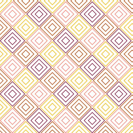 Pink Diamonds fabric by mrshervi on Spoonflower - custom fabric