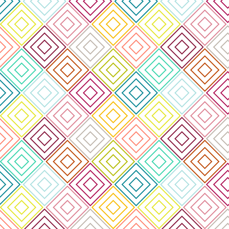 MultiDiamonds fabric by mrshervi on Spoonflower - custom fabric