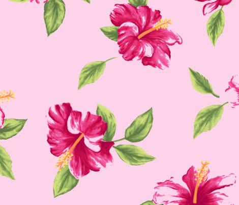 Aloha fabric by natalie_engdahl on Spoonflower - custom fabric