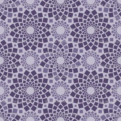 Kaleidoflowers (Purples)