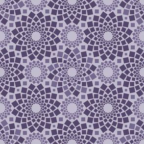 Kaleidoflowers (Purples)