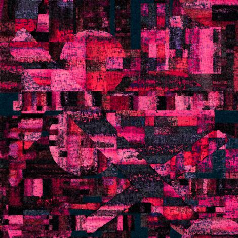 Bad moons risen by Su_G fabric by su_g on Spoonflower - custom fabric