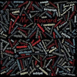 mr howard pencil case