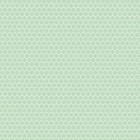 honeycomb_rep_melon fabric by meissa on Spoonflower - custom fabric