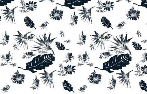 porterbeach_navy fabric by paragonstudios on Spoonflower - custom fabric