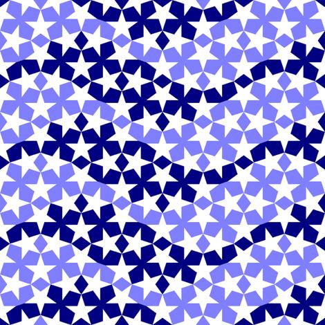 star waves 2 alternating fabric by sef on Spoonflower - custom fabric