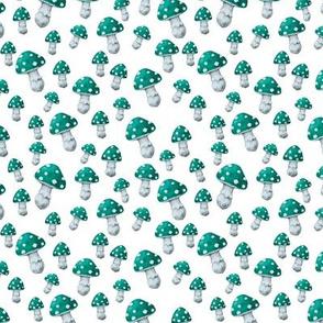 Mini MUSHROOM in Turquoise