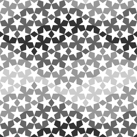 star waves 4 rotating fabric by sef on Spoonflower - custom fabric