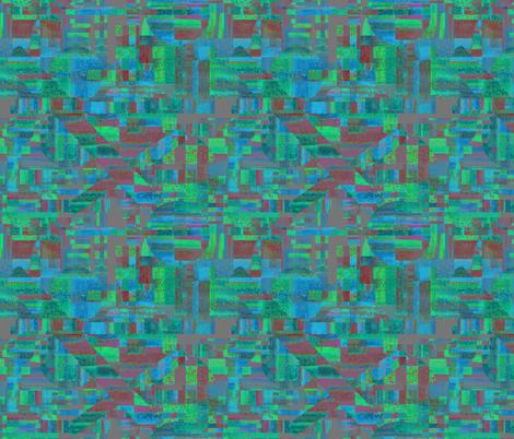 Slicing through water by Su_G fabric by su_g on Spoonflower - custom fabric