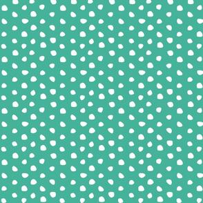 Hand drawing dots
