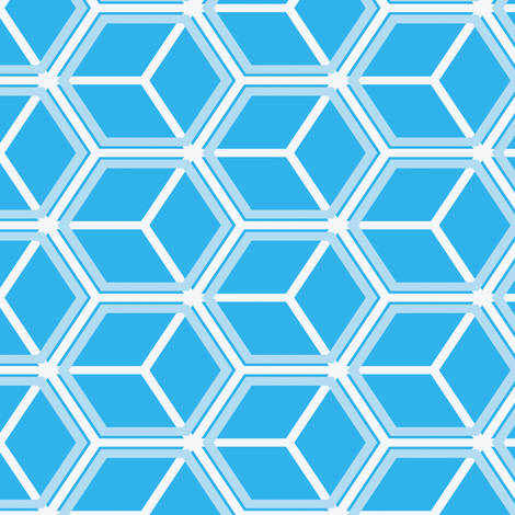 Honeycomb Motif 15 fabric by animotaxis on Spoonflower - custom fabric