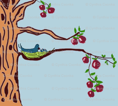 Life is Sweet in the Pomegranate Tree