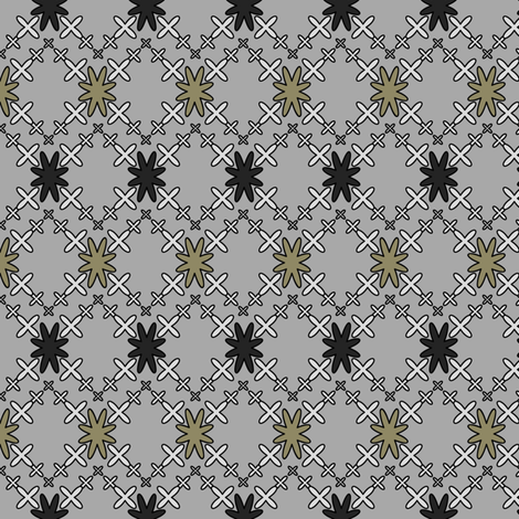 Orion's Cross fabric by fridabarlow on Spoonflower - custom fabric