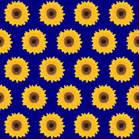 sunflower2 fabric by suemc on Spoonflower - custom fabric