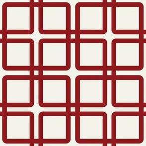 Modern Plaid: Red