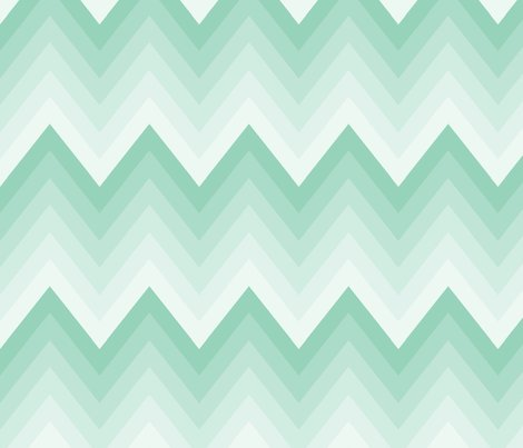 Mint Ombre Chevron Wallpaper Mgterry Spoonflower