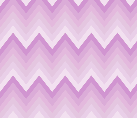 Lilac Ombre Chevron fabric by mgterry on Spoonflower - custom fabric