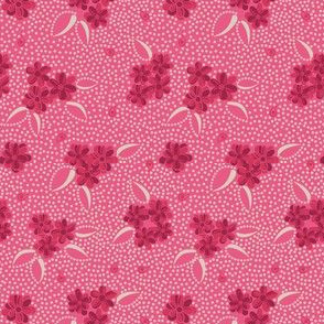 Flower Paisley Dot pink