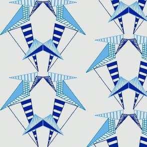 Euclidian Structure (blue)