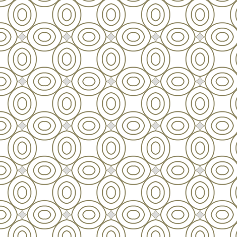 Geometric circles fabric by pearl&phire on Spoonflower - custom fabric