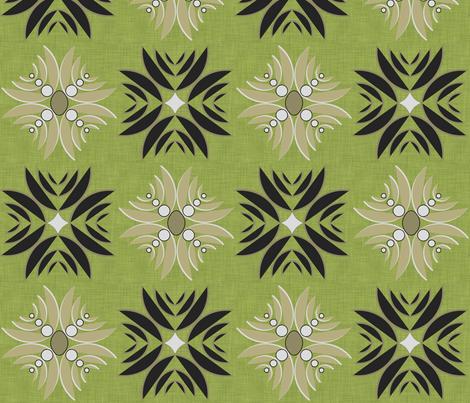 Modern Hula fabric by fridabarlow on Spoonflower - custom fabric