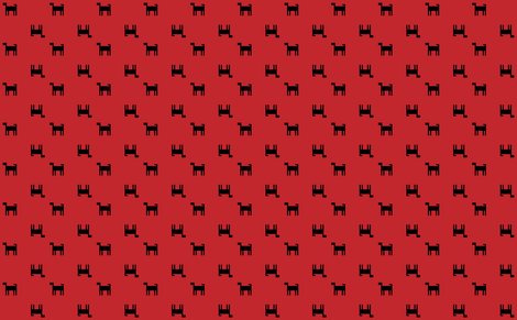 mini pups fabric by raven_miller on Spoonflower - custom fabric