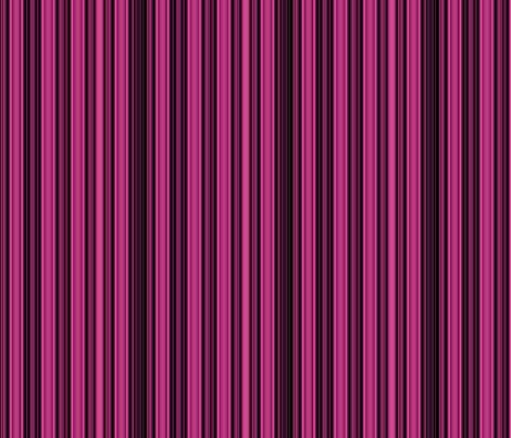 Berry and Black Stripes © Gingezel™ 2013 fabric by gingezel on Spoonflower - custom fabric