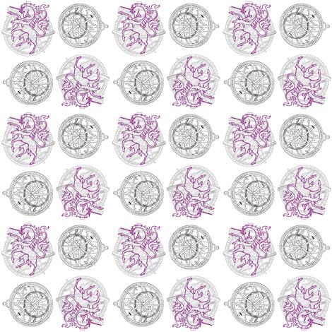 unicorn zenith fabric by trollop on Spoonflower - custom fabric