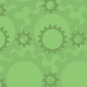 Gears in Green
